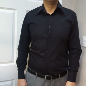 Black D&G dress shirt